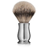 Edwin Jagger Chatsworth Chrome Silvertip Badger Shaving Brush