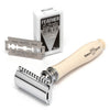 Edwin Jagger Chatsworth Imitation Ivory Double Edge Safety Razor