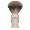 Edwin Jagger Large Imitation Ivory Best Badger Shaving Brush