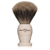 Edwin Jagger Medium Imitation Ivory Best Badger Shaving Brush