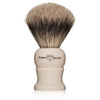Edwin Jagger Medium Imitation Ivory Super Badger Shaving Brush