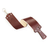 Ezra Arthur 2.5 Inch Burgundy English Bridle Strop