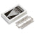 Feather Hi Stainless Double Edge Safety Razor 5 Pack