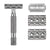 Rockwell 6C - Gunmetal Adjustable Safety Razor