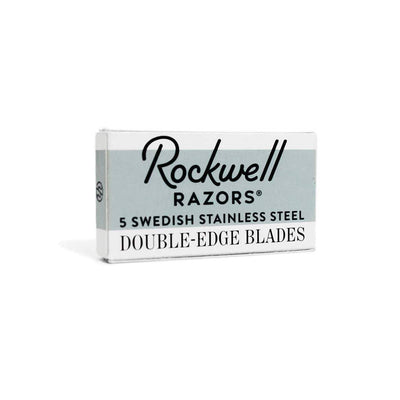 Rockwell Double Edge Safety Razor 100 Blade Pack