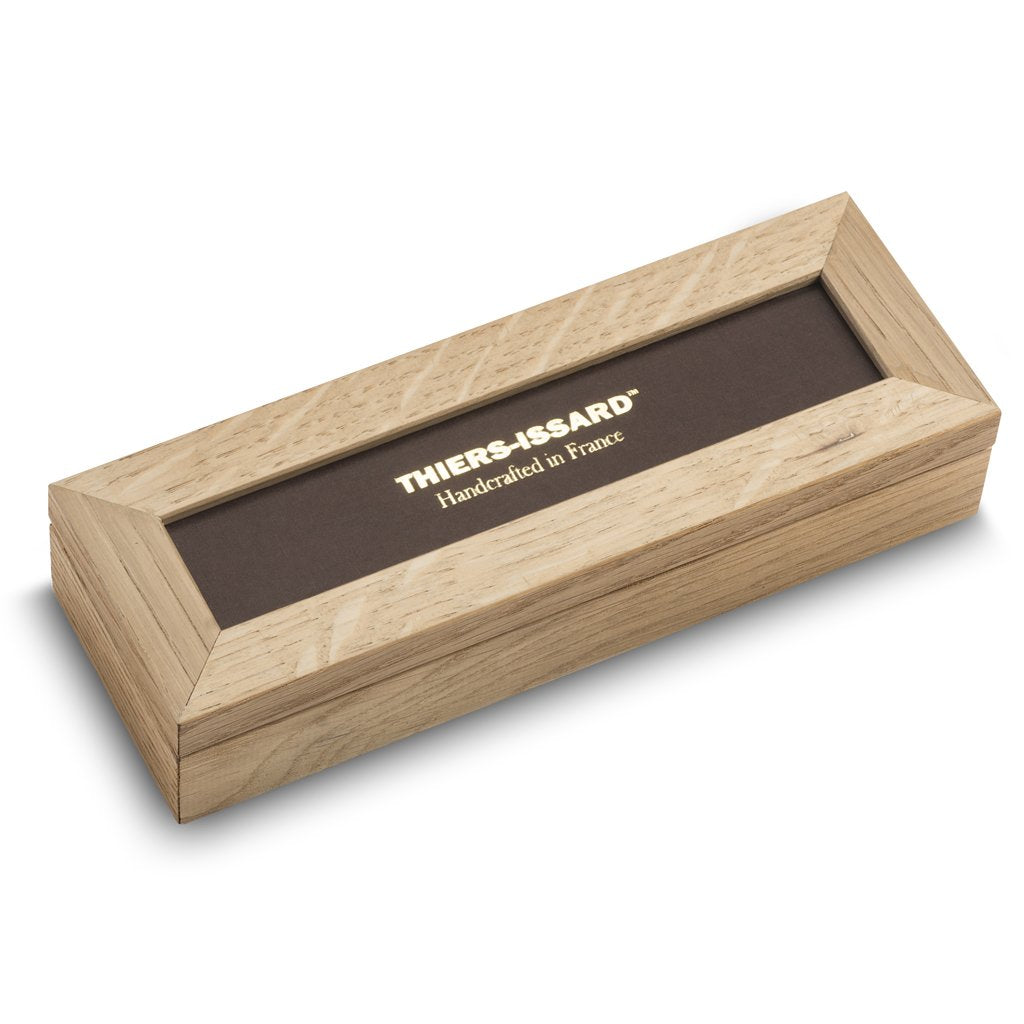Thiers Issard Superbox in Oak for Two Razors