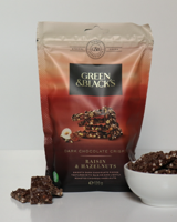 Green & Black's Raisin & Hazelnuts Dark Chocolate Crisps 120g