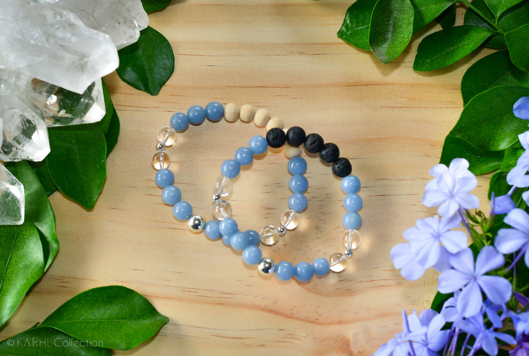 AWARENESS | Sterling Silver Aromatherapy Diffuser Bracelet