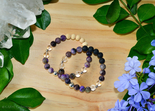TRANSFORMATION | Sterling Silver Aromatherapy Diffuser Bracelet