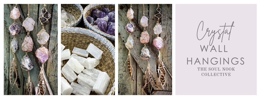 Crystal Wall Hanging Workshop at The Soul Nook Collective - 21 January