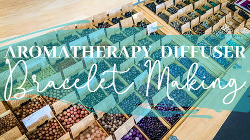 Aromatherapy Diffuser Bracelet Making Workshop with Liz Chick! (Darwin)