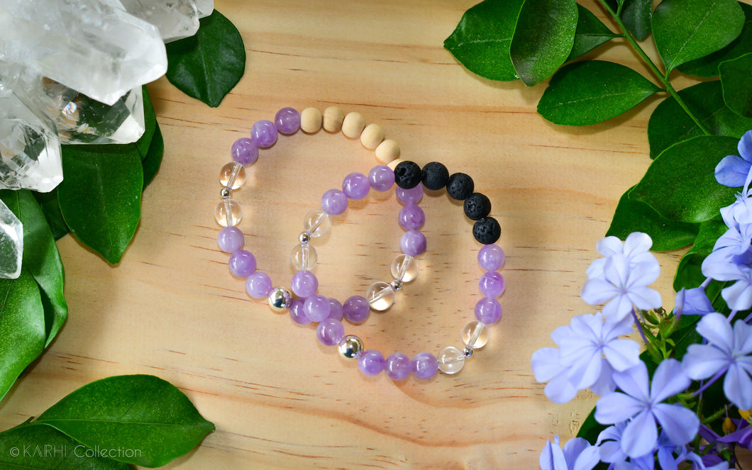 SERENITY | Sterling Silver Aromatherapy Diffuser Bracelet