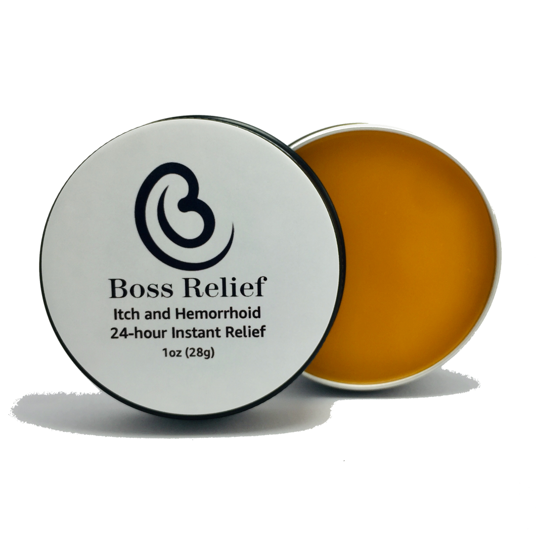 Boss Relief - Instant Itch Relief - Boss Bidet