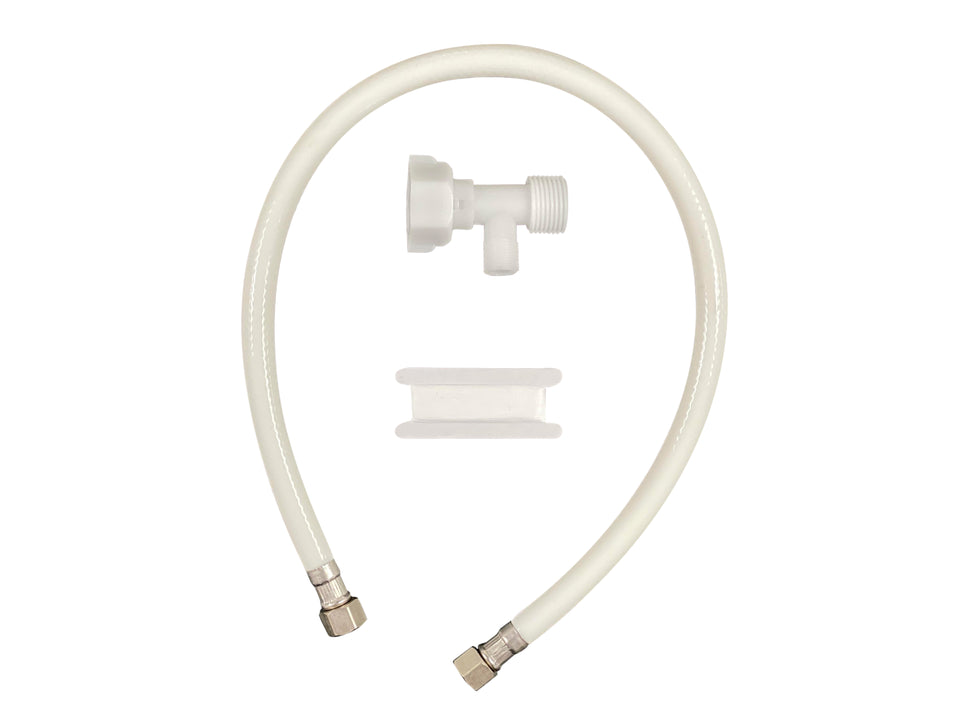 Plastic T-Adaptor and PVC Hose | Boss Bidet