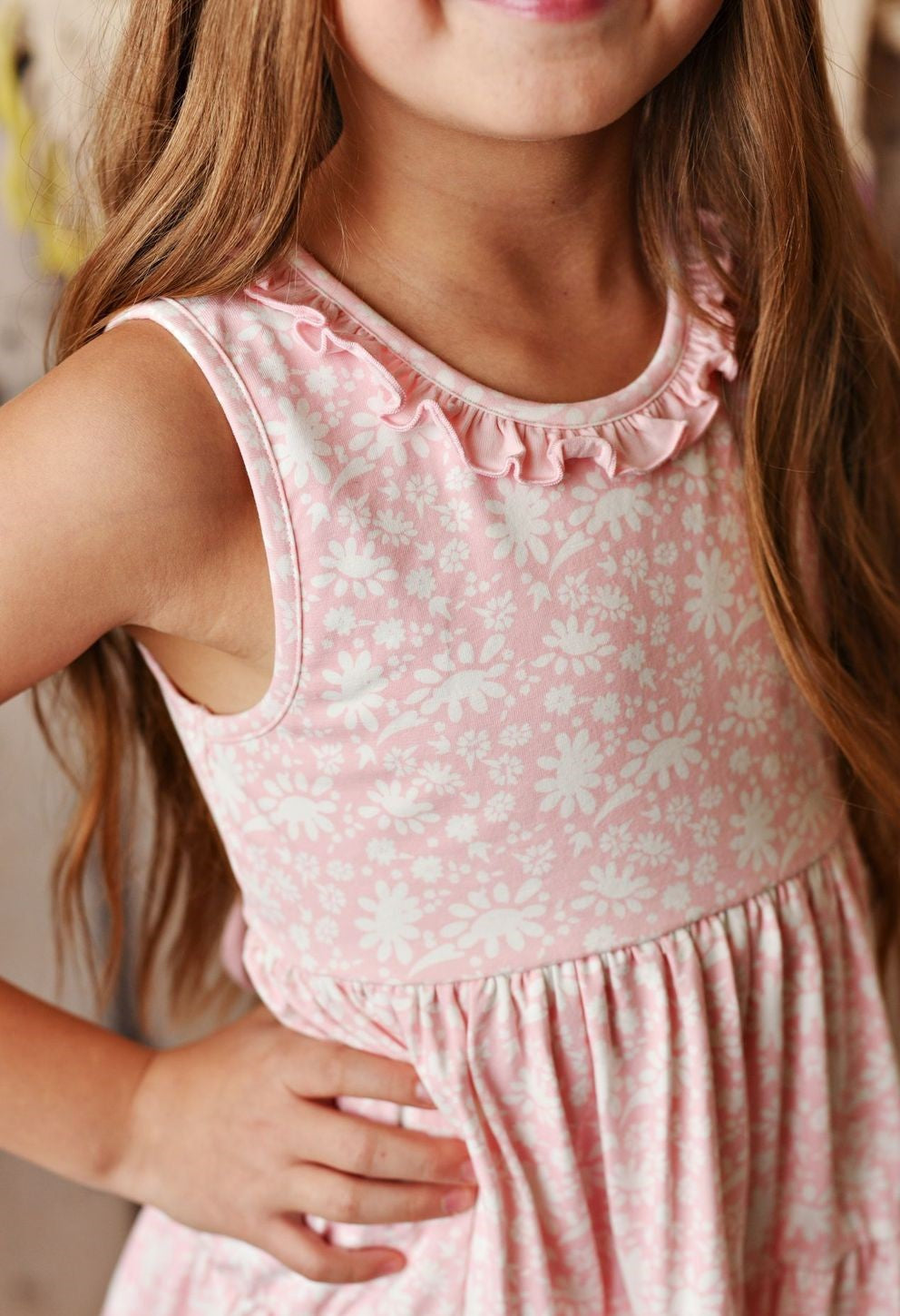 Dainty Pink Dress - Swoon Baby-Dazzled Babies Boutique