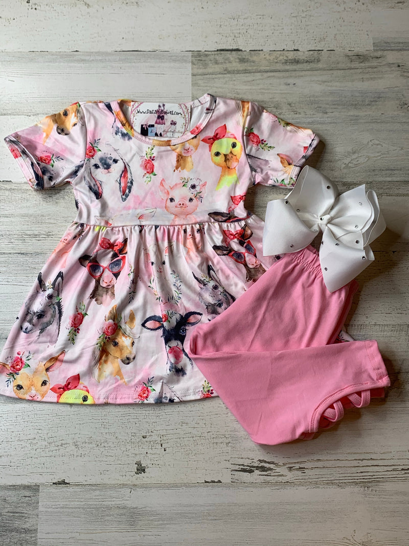 Lovely Farm Capri Set-Dazzled Babies Boutique