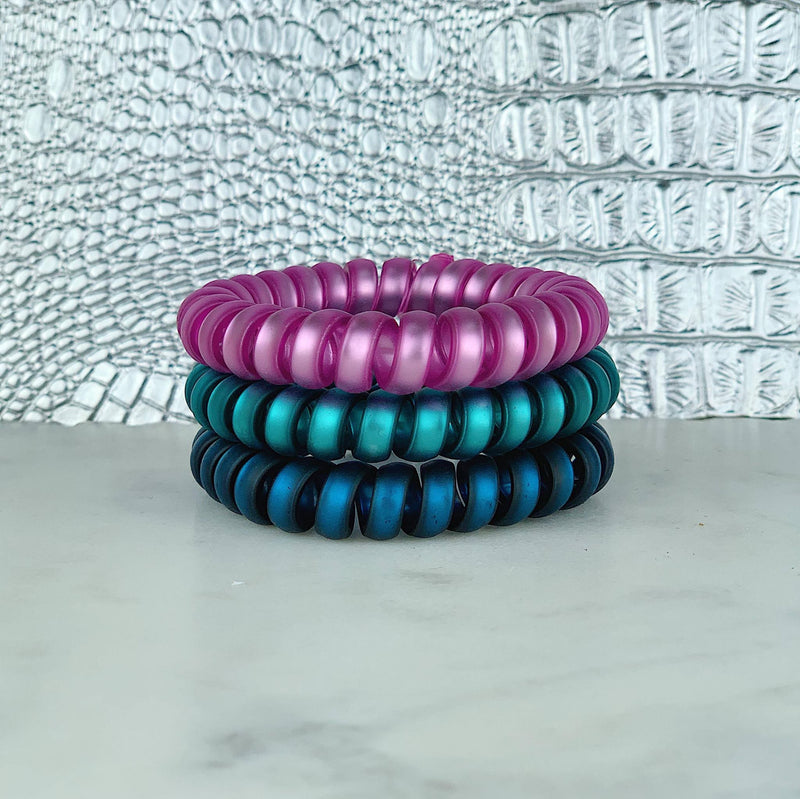 Hair Ties- Gem Stones Set