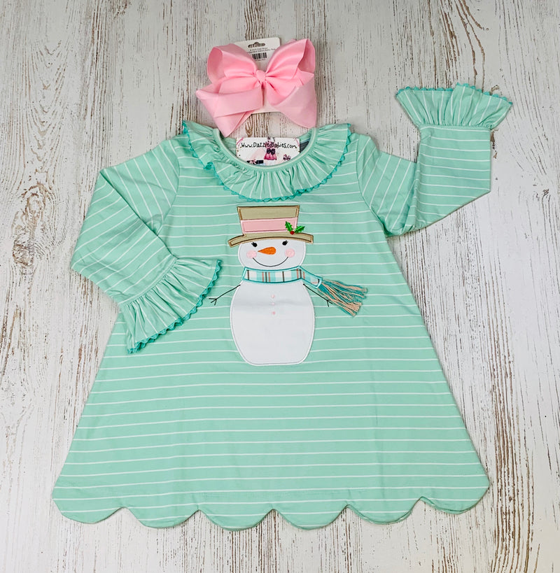 Happy Snowman Dress