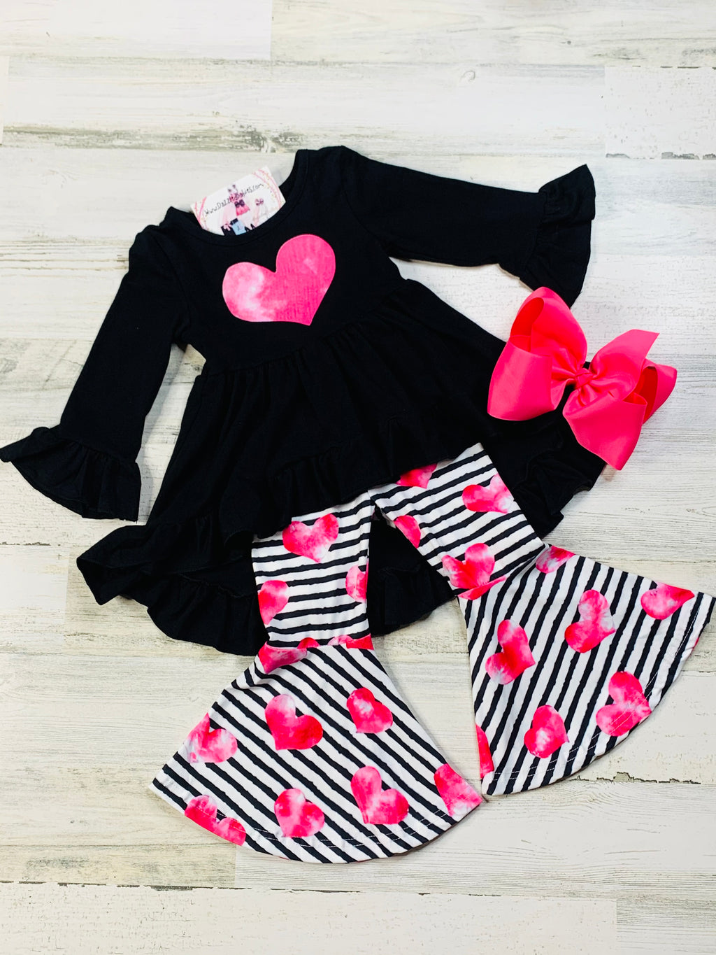 Whole Lotta Love Set-Dazzled Babies Boutique