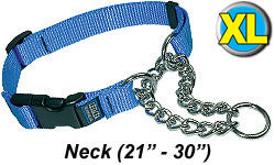 Cetacea Chain Martingale Collar - X-Large