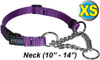Cetacea Chain Martingale Collar - X-Small