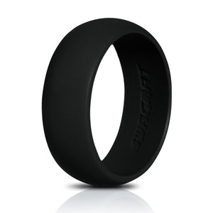 Men's Silicone Wedding Ring Band - 8.7mm