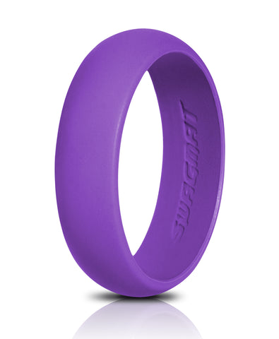 Image of Women's Silicone Wedding Ring Band - 5.5mm