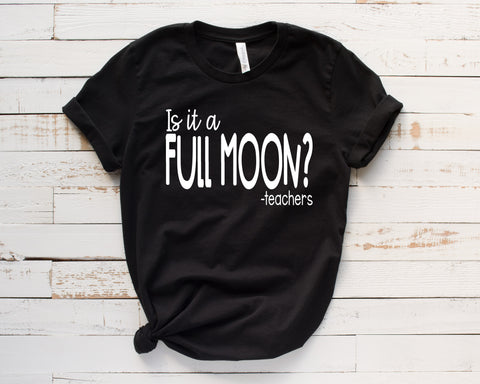 Is It A Full Moon?