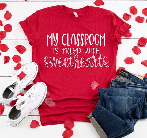 My Classroom Is Filled With Sweethearts