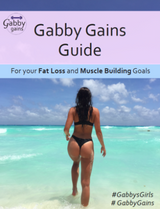 Gabby Gains Guide's (VOL. 1 AND VOL. 2)