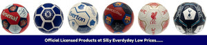 official licensed footballs at silly everyday low prices