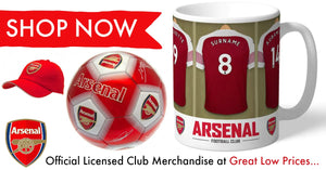 Shop for Arsenal F.C. Club Merchandise and Gifts,Mugs, Hats,Scarfs all at great low prices from SportsGiftsDirect.co.uk