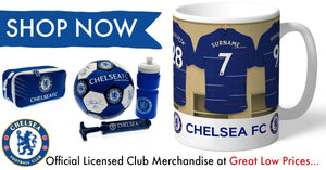 Chelsea F.C. Official Football Gifts and Merchandise, All at Great Low Prices, We Aim to Dispatch All Orders Within 24hrs
