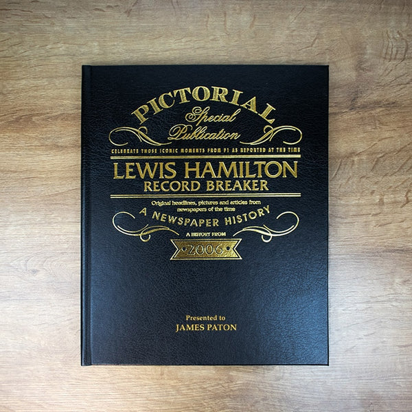 Lewis Hamilton: Record Breaker – A Pictorial Newspaper Book