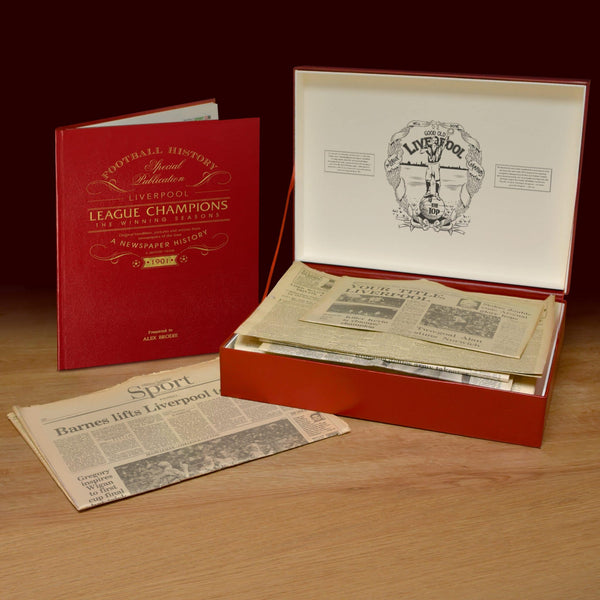 Liverpool Season Win Original and Book Premium Box Set