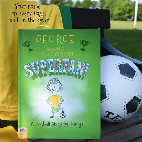 The Football Superfan - Hardback | Gifts24-7.co.uk