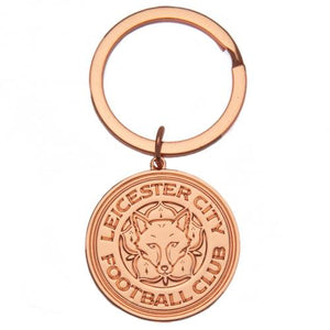 Leicester City FC Rose Gold Plated Keyring | Leicester City FC
