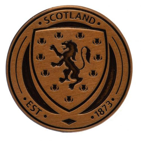 Scotland FA Antique Gold Plated Badge | Scotland FA