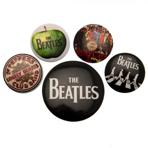 The Beatles Button Badge Set | The Beatles