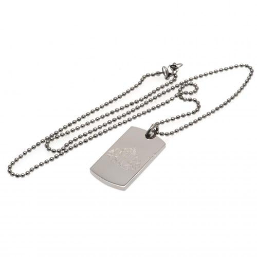 Sunderland AFC Engraved Dog Tag & Chain, Animals & Pet Supplies by Sports Gifts Direct