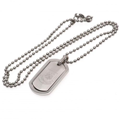West Ham United FC Framed Dog Tag & Chain CT, Pet ID Tags by Sports Gifts Direct