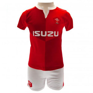 Wales RU Shirt & Short Set 6/9 mths QT | Wales RU