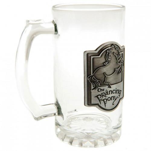 The Lord Of The Rings Glass Tankard | The Lord of the Rings
