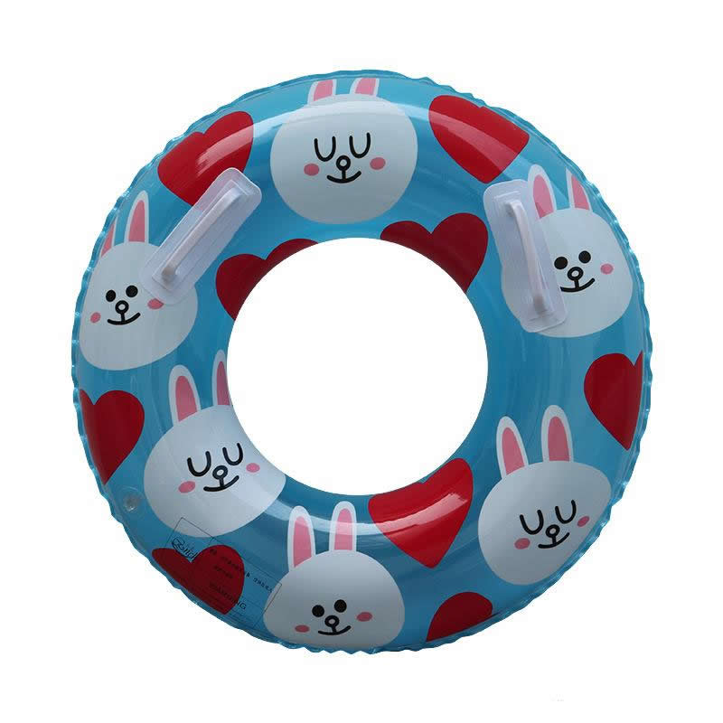 Kids LINE Brown and Cony Ring Float