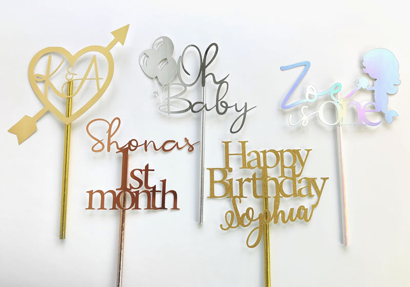 Customised Cake Topper