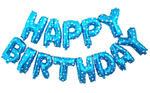 "16"" Happy Birthday Foil Balloon Banner"