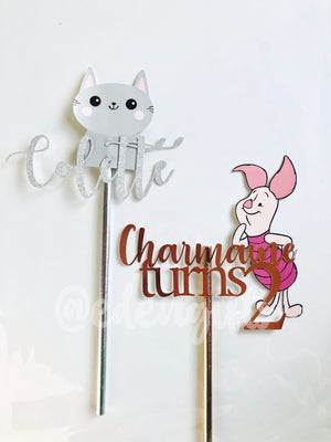 Customised Print Cake Topper
