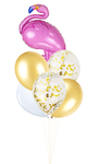 Flamingo Foil Helium Balloon Set