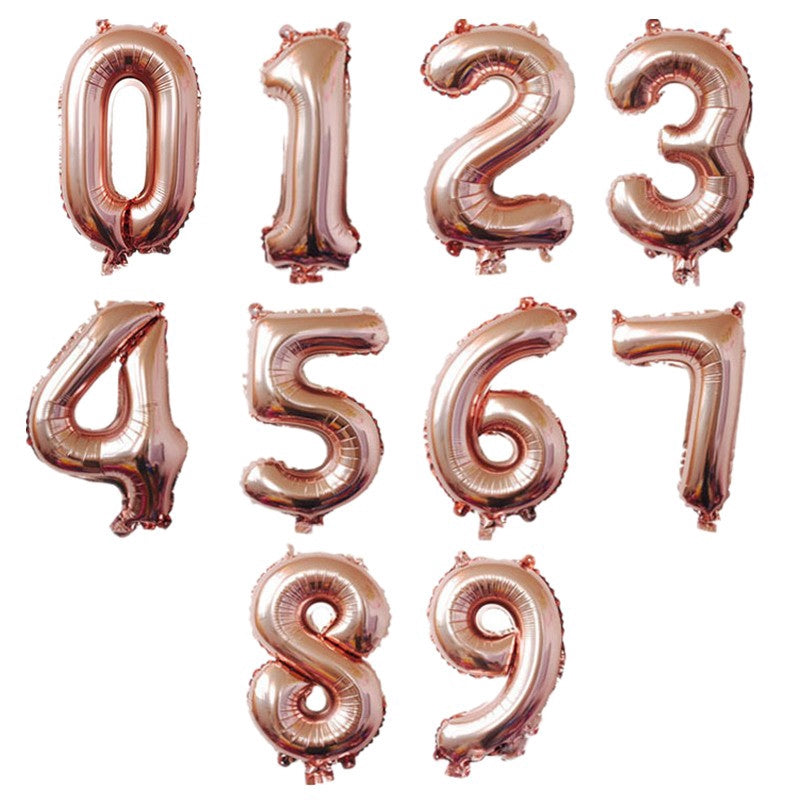 "32"" Number Foil Balloon"