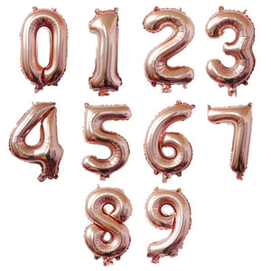 "40"" Number Foil Balloon Set"